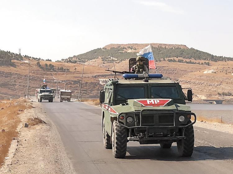 На границе турки ездят хмуро