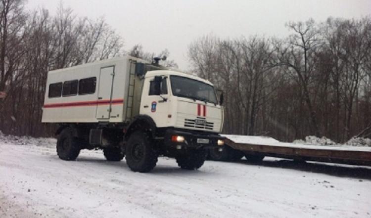 Китайский снег погрузил хабаровские села во тьму