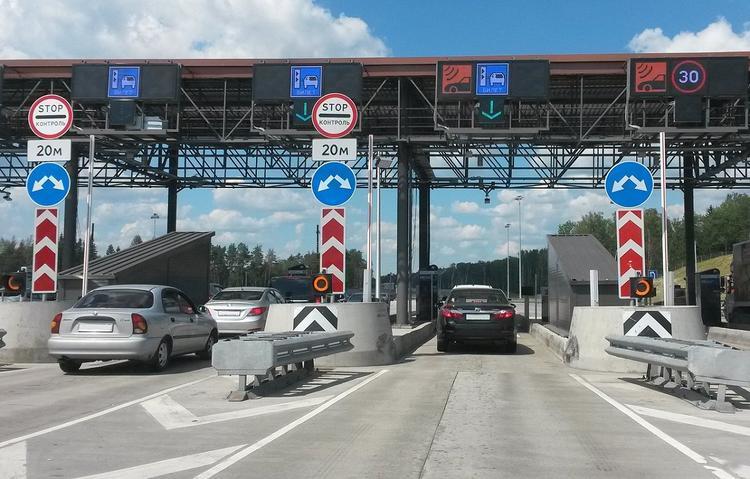 Штраф за неоплаченный проезд по платной дороге составит от 2500 до 5500 рублей