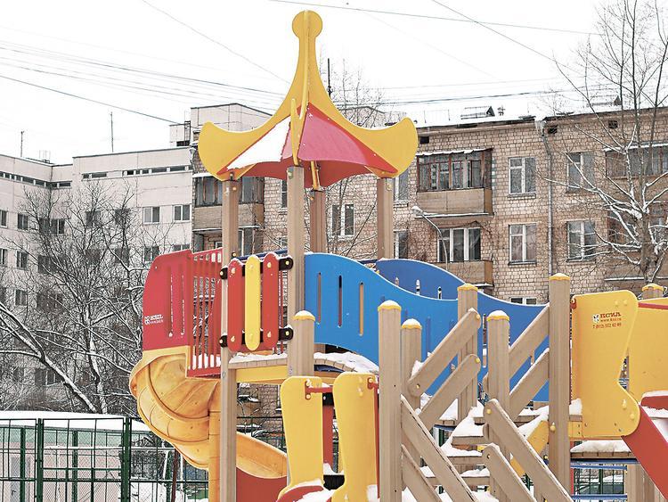 Московский дворик, век XXI