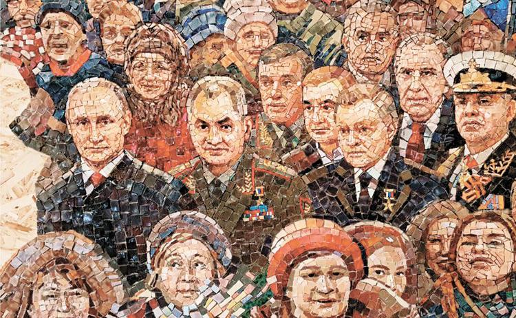 Путина оставят на мозаике в храме