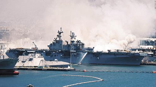 В США сгорел «отец американского флота»