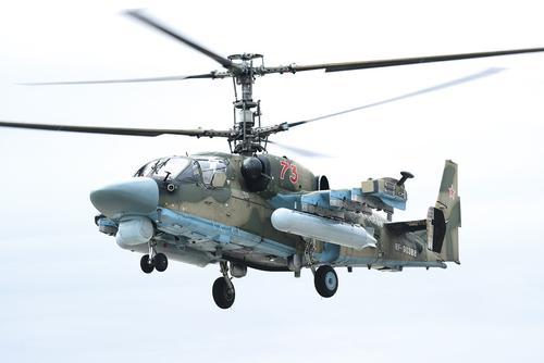 Ка-52М в воздухе