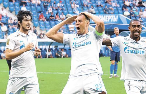 В «дерби двух столиц» сойдутся лидеры чемпионата России «Зенит» и «Спартак»
