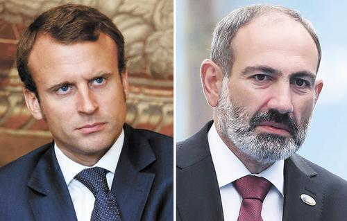 Макрон и Пашинян разгласили детали конфиденциальных разговоров с Путиным