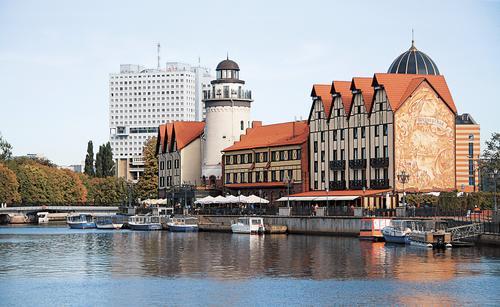 Власти Калининграда рассматривают вопрос о развитии исторического центра города