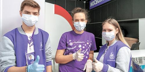 Волонтеры помогают властям Москвы в реализации общественных проектов