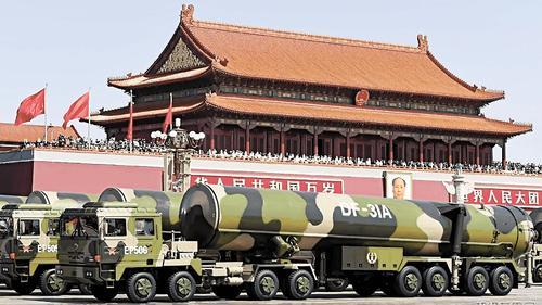 В США оценивают ракетно-ядерный потенциал Китая