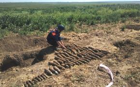 Участники поискового лагеря «Вахта памяти» обнаружили  в Крыму  склады с боеприпасами