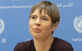 Президент Эстонии оказалась против восстановления права голоса России в ПАСЕ