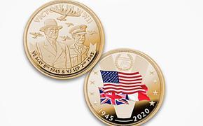В США выпустили монету о победителях во Второй мировой войне без участия СССР
