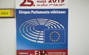 Выборы в Европарламент: В Латвии выстроились очереди на участках
