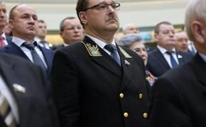 Сенатор Константин Косачев считает, что  России необходимо отстаивать свою позицию по Керченскому проливу