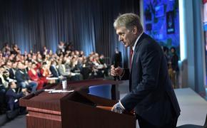 Песков опроверг информацию о возможной встрече Путина и Мэй