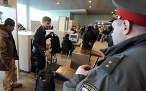 В аэропорту Домодедово установили рамки-алкотестеры