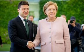 Опубликовано видео с трясущейся во время встречи с Зеленским Ангелой Меркель