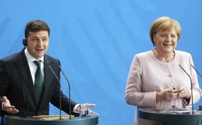Меркель рассказала, когда с России снимут санкции