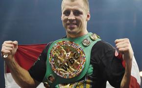 Польский боксер Гловацки желает провести бой-реванш с латвийским боксером Бриедисом