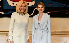 Первая леди Франции Брижит Макрон дала советы первой леди Украины Елене Зеленской