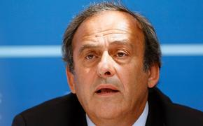 Экс-глава УЕФА Платини взят под стражу по делу о коррупции
