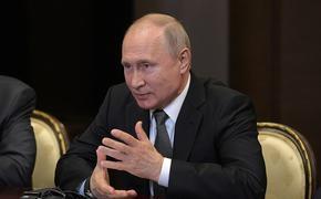 Путин отреагировал на ситуацию с делом Голунова