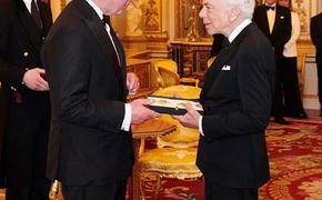 Ральф Лорен удостоен почетного рыцарского звания в Британии