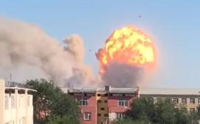 В Казахстане на складе боеприпасов произошел взрыв
