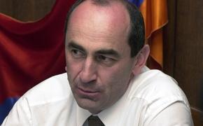 Взят под стражу бывший президент Армении