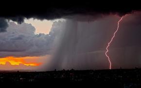 В Башкирии во время урагана ударом молнии убило женщину