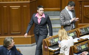 Надежда Савченко решила избраться в новый парламент Украины от Донбасса