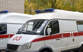 В Крыму машина скорой помощи попала в аварию и перевернулась