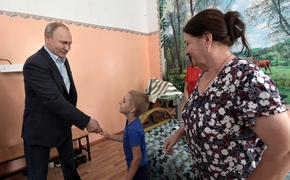 Путин пообещал мальчику из Тулуна следить за восстановлением детсада