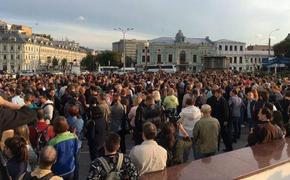 Ультиматум власти. В столице на митинге «За допуск на выборы» собралось больше 20 тысяч человек