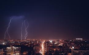 МЧС предупреждает: в столице снова гроза