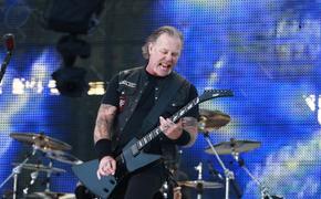"""Metallica во время концерта в Москве спела """"Группу крови"""" на русском языке"""