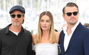 Видео: Ди Каприо, Питт и Робби сорвали выпуск голливудского телешоу