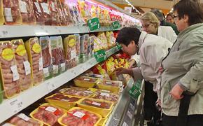 Цены на продукты в России выросли в два раза сильнее, чем в Европе