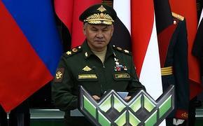 Шойгу: Россия сохраняет готовность к диалогу с США по ракетам средней и меньшей дальности