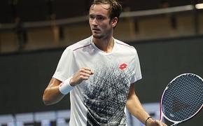 Сербский теннисист Новак Джокович восхищен игрой Даниила Медведева