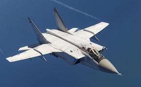 В сети появилось видео полета истребителей МиГ-31 в ближнем космосе