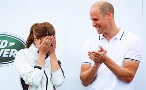 Принц Уильям публично поиздевался над Кейт Миддлтон