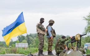 Видео ракетного удара ВСУ по позициям ополченцев Донбасса выложил депутат Рады
