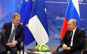 Известны темы переговоров Путина с президентом Финляндии