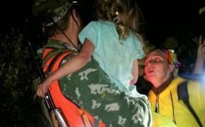 В Нижегородской области нашли пропавшую в лесу девочку живой