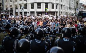 Народ скидывается на помощь арестантам после московских митингов