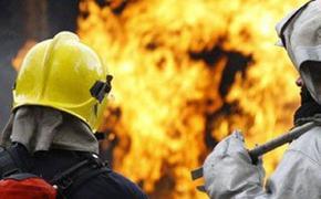 В Королеве на территории завода ЦНИИмаш произошел пожар