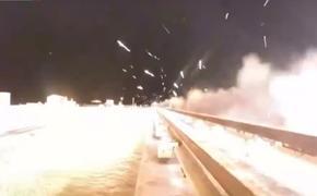 Видео: в США испытали гиперзвуковые ракетные сани