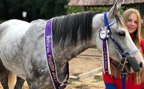 Брянская наездница выиграла чемпионат республики Беларусь