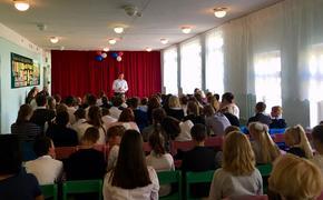 Послы фестиваля боевых искусств ТАФИСА встретились с учениками сельской школы