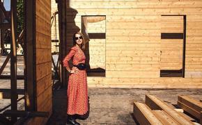 Ксения Собчак похвасталась строящимся домом.  Говорят, что он обойдется телеведущей в 40 миллионов
